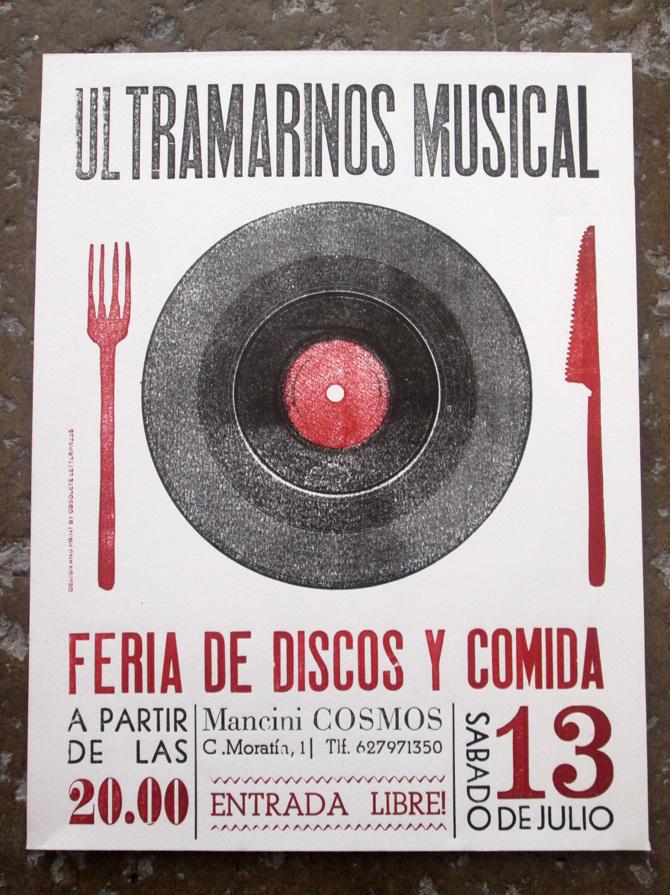 Ultramarinos Musical Obsolete Letterpress Imprenta